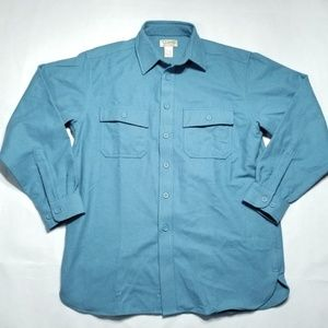 Vintage L.L. Bean Chamois Cloth Button Shirt